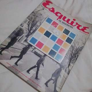 ERASERHEADS Collector's Item Esquire Magazine with CD!