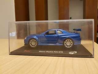 Saico Nissan Skyline GTR R34 Cast