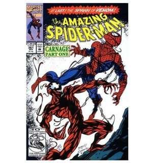 AMAZING SPIDER-MAN #361 SET (MARVEL COMICS)