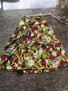 🚚 Vintage High Waisted Skirt