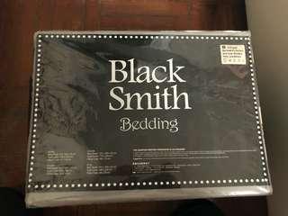 Black smith bedding 單人寢具(銀色)