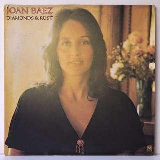 Joan Baez – Diamonds & Rust (1975 US Original - Vinyl is Excellent)