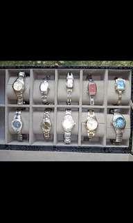 Jam tangan ori brand relic  fossil