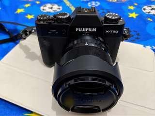 JUAL FUJIFILM X-T20 KIT 18-55MM