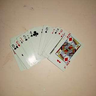 CLASSIC Goodlake deck of cards