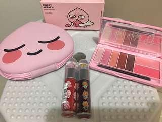 Kakao friends桃桃眼影Tint set