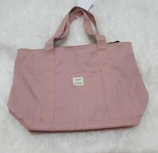 Anello tote bag dusty pink