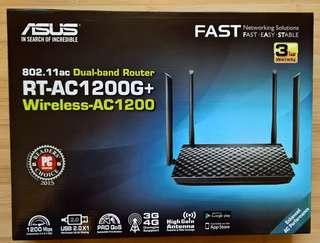 🚚 ASUS RT-AC1200G+ wireless router BNIB