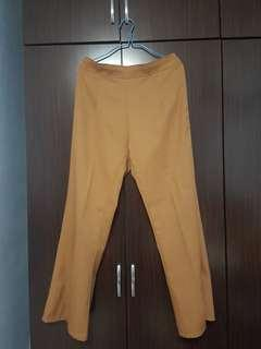 Brown Stretchable Pants (formal/casual)