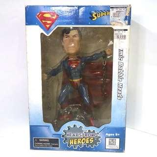 Monogram Superman Bobblehead Collectible