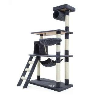 🐱Cat Tree🐱  Comfy Play Bed Scratcher House Hammock
