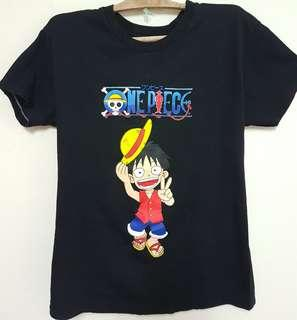 Men's Black Printed T-shirt (One Piece) (Size: S/M)