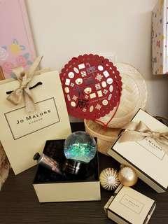 JO MALONE聖誕水晶球