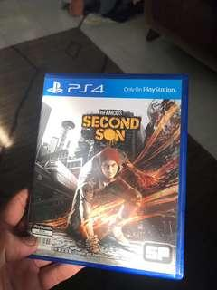Ps4 Game (The Second Son)