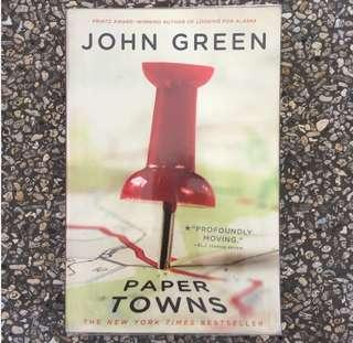 BUNDLE John Green Books (Paper Towns, Looking for Alaska, TFIOS)