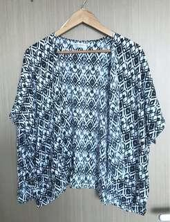 Cotton On Kimono Tribal Print