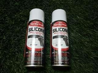 Silicone oil lubricant airsoft airgun