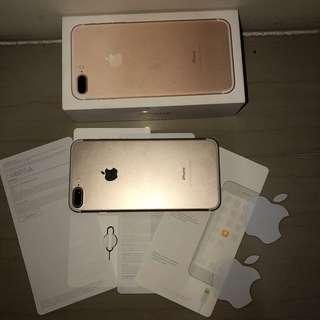 Iphone 7plus 32gb with complete accesories