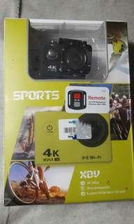 Action camera - 4K Sports Cameras W/ Remote #CNY888