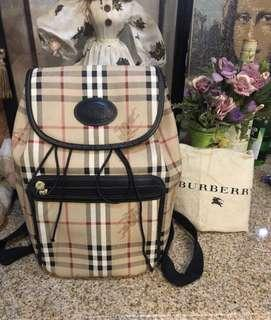 100% authentic Burberry backpack