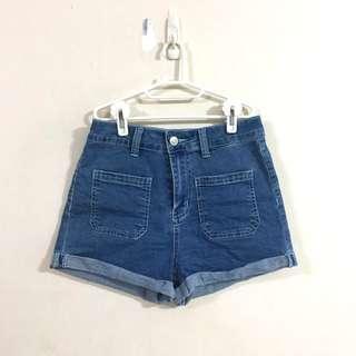 🚚 Denim Highwaisted Shorts