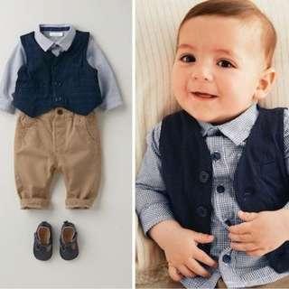 Autumn Boys Clothing Sets Kids Sport Suits Party Clothing 3pcs