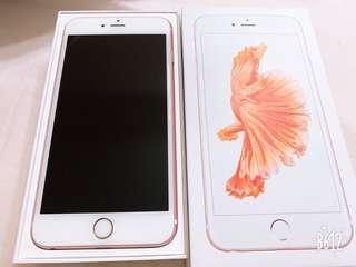 Iphone6S Plus 64G玫瑰金 二手女用機