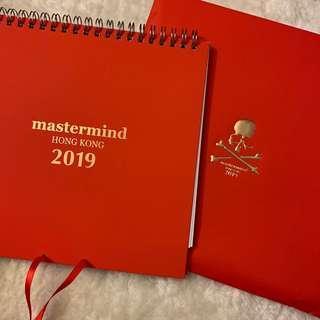 🚚 正品澳門專櫃購入 mastermind Hong Kong 2019 年曆 限量