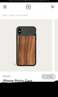 🚚 Moment iPhone XS Max case