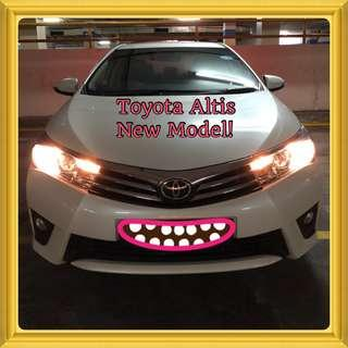 TOYOTA COROLLA ALTIS CLASSIC 1.6 CVT! Promo Now! $390 weekly! Petrol Saver Proven! 18% off petrol Card! Lowest Price! Can Drive For Grab! Flexible Rental Scheme! Personal User! Call Now!
