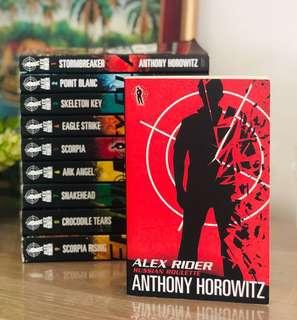 🚚 ‼️Alex Rider 10 - Russian Roulette By Anthony Horowitz