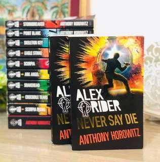 🚚 ‼️Alex Rider - Never Say Die By Anthony Horowitz