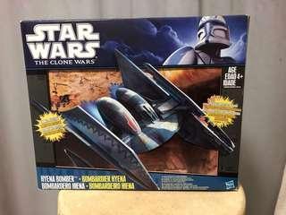 Star Wars clone wars Hyena Bomber vulture droid