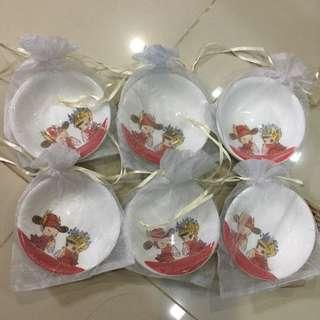 $8 for 22 PCs of wedding favor 10 cm sauce plate