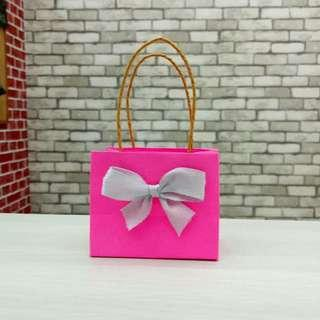 Mini Paper Bag Valentine Pink