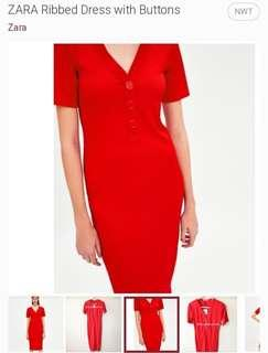 Vday SALE!!! Zara Dress (Retails at 38USD+ or PHP2,100)