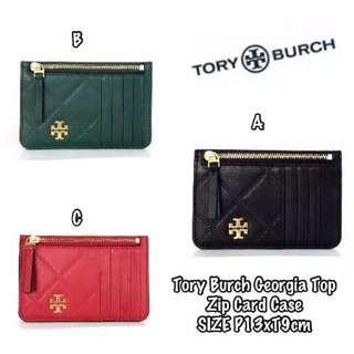 Tory Burch Zip Card Case