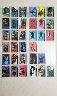 萬變咭 幪面超人 BLACK RX PP日版白咭 33張