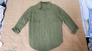 Army Green Polo