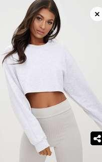 PLT BNWT cropped jumper