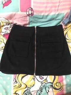 Forever 21 Front Zipper Skirt