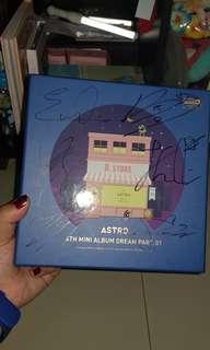 """SIGNED Album ASTRO DREAM PART.01 """"BABY"""""""