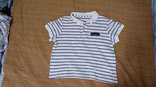 Crop Polo Shirt