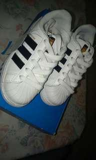 Adidas Superstar II for kids brand new with box and tags
