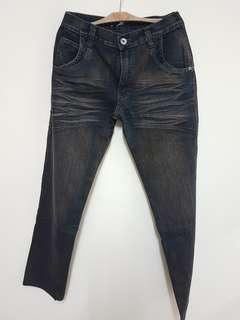 Men's Brown Basic Essentials Jeans (Size: 33)