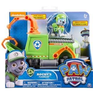 Paw Patrol - Rocky's Tugboat