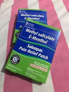 Salonpas Pain Relief Patch (2 boxes)