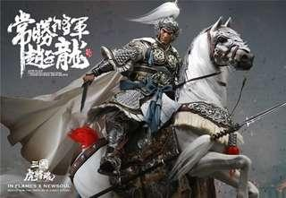 *MISB* [DELUXE] Inflames Toys Soul Of Tiger Generals – Zhao Yun 1/6 scale with Horse Full Set(not hot toys enterbay) 常胜将军赵子龙+照夜玉狮子