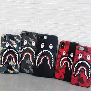460d6821561e Japan Bape Shark Camo Phone Case  hypebeast