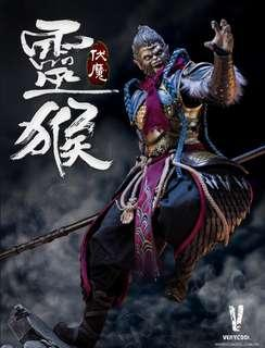 *MISB* Very Cool DZS-005B Dou Zhan Shen Series – Monkey King plus King Kong Platform Deluxe Version 1/6 Scale 灵猴伏魔加金刚底座珍藏版套装